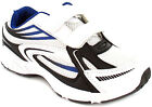 New Boys/Childrens White Pvc And Mesh Upper Touch Fastening Trainers. UK SIZES