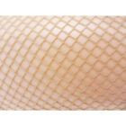 NEW LADIES QUALITY FISHNET TIGHTS IN NUDE / NATURAL PARTY M TO XXL PLUS