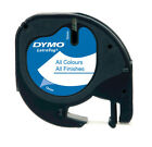 Dymo Letratag Label Tape - All Colours & Finishes