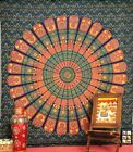 Queen Indian Mandala Tapestry Hippie Hippy Wall Hanging Throw Bedspread Dorm