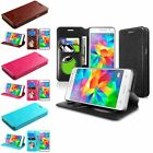 For Samsung Galaxy Grand Prime G530 Leather Wallet Flip Case Cover w Card Holder