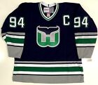 BRENDAN SHANAHAN HARTFORD WHALERS CCM VINTAGE JERSEY NEW WITH TAGS