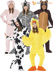 Kids Farm Animal Onesie Fancy Dress Costume Boys Girls Nativity Christmas Book