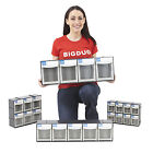 Tilting Parts Bins Stackable or Wall Mounted Tilt Bin Workshop Garage Tools