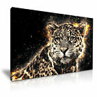 JAGUAR LEOPARD Animal Canvas Framed Print 1 ~ More Size