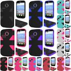 For LG L15G L16C Sunrise Lucky Dynamic Slim Rugged Hybrid Dual Layer Cover Case