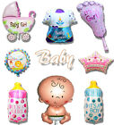 Baby Shower Prince Princess Foil Balloon Decorations Kids Boy Girl Party Supply