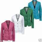 *Womens Ladies Celeb Inspired Tailored Fitted Blazer Ladies Jacket Top UK 12-24*