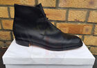 NEW BRITISH ARMY SURPLUS BLACK GEORGE BOOTS,LEATHER UPPER & SOLE,UNIFORM,DRESS