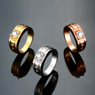 3 Colors 18K Gold Gp Fashion New Gift Rhinestone Swarovski Crystal Finger Rings