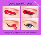 80 pcs Stickies Perfect Quick Eyeliner Template Cosmetic Eye Makeup ORIGINAL US2