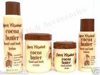 Queen Elisabeth Cocoa Butter Hand & Body Lotion, Cream (Whole Set) Special Offer