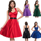 Swing 50s VINTAGE STYLE Housewife Rockabilly Pinup Party SUMMER Tea Prom Dresses