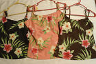 BAREFOOT MISS Floral Swim Tankini Top Choice 6T Black 10T Brown 18T Peach NWT