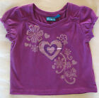 New 18 Month Children's Place Purple Heart Flower Shirt