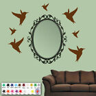 Bird Wall Stickers, Wall Art, Place around Your own personalised wall quotes.