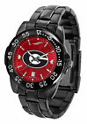 Georgia Bulldogs Watch Fantom Anochrome Gunmetal Mens or Ladies Red Dial
