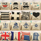 1PC Select Free Style Vintage Throw Pillow Case Sofa Cushion Cover Home Decor