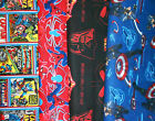 *SUPER HEROS* #14 SCRUB TOPS, SIZES XS-2X, Larger Sizes Avail, YOUR CHOICE