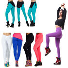 Fashion Womens High Waist Sport Tights Fitness YOGA Running Pants 6 Colors