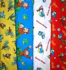 *CURIOUS GEORGE* #2 SCRUB TOPS, SIZES XS-2X, Larger Sizes Avail, YOUR CHOICE