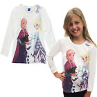 Childrens Frozen Girls Long Sleeved Anna Elsa Top 4-5 Years Olaf T Shirt