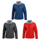 Womens Result Core Comfortable Active Fitted Waist Collar Zip Jacket Size XS-2XL