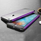 Luxury Shockproof Aluminum Metal Bumper Frame Cover Case For iPhone 6 6s 7 Plus