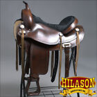 "TO108ADB HILASON TREELESS WESTERN TRAIL BARREL RACING SADDLE 15"" 16"" 17"" 18"""
