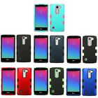 Solid Dual Layer Hybrid Protector Cover Phone Case LG Spirit 4G H443 Escape 2