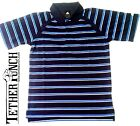 Adidas Climacool Vented Striped Golf Polo Dark Navy Marine Blue NEW WITH TAGS