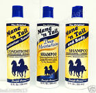 THE ORIGINAL MANE'N TAIL ( SHAMPOO, CONDITIONER,DEEP MOISTURIZING ) 12fl.oz.
