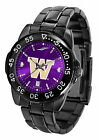 Washington Huskies Fantom Watch Gunmetal Ladies or Mens Purple Dial