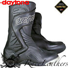 DAYTONA VOLTEX GTX GORETEX BLACK WATERPROOF MOTORCYCLE MOTORBIKE BIKE BOOTS