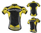 Men's Bike Jersey Bicycle Cycling Jersey Sports Wear Jacket Short Sleeve Top