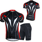 Men's Cycling Bicycle Bike Outdoor Sports Short Sleeve Shirt Jersey Size M-XXL