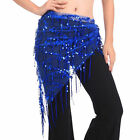 WOMEN BELLY DANCE DANCEWEAR COSTUME BELT HIP WRAP SCARF BEADS DANCE SKIRT GEM