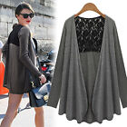 2015 Womens Sexy oversize cotton Cape Poncho Summer Top shirt plus size hot