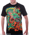 RC Survivor T-Shirt Limited Edition Dragon Punk Tattoo C166 Sz M L XL 2XL 3XL