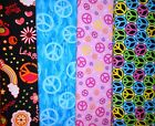 PEACE #1 Fabrics, Sold Individually, Not As a Group, By The Half Yard