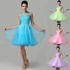 New Cocktail Short Mini Dress Lady Party Evening Ball Gown Bridesmaid PROM Dress