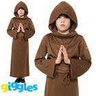 Boys Monk Costume Horrible Histories World Book Day Week Kids Fancy Dress Outfit