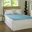 NEW Beautyrest 3-inch Sculpted Gel Memory Foam Mattress Topper PICK!