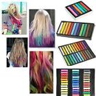 6 12 24 36 Color Party Non-toxic Temporary Hair Chalk Dye Soft Pastels Salon Kit