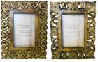 "Antique Effect Carved Wooden Picture Photo Frame Vertical Horizontal 4""x6""  5x7"""