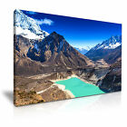 NEPAL Sky Lake Himalaya Mountain Canvas Wall Art Print ~ More Size