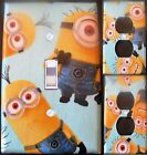 MINIONS custom Light Switch, outlets and wall plate covers kids room decor