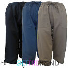 Womens 3/4 100% Cotton Capri Pants Ladies Knee Length Cropped Trousers 8-18