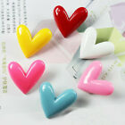 Actual Candy Color Heart Shape Refrigerator Magnet Stick Resin Sticker US1 MO