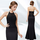Ever Pretty Black Elegant Mermaid Maxi Evening Prom Dress 08242 UK Seller